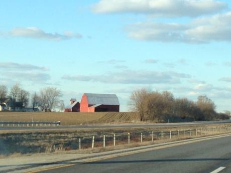 Barn by I-57