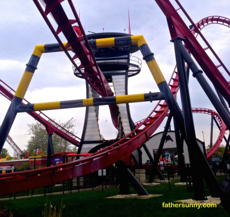 DAILY POST PHOTO CHALLENGE:  Twist: Roller Coasters